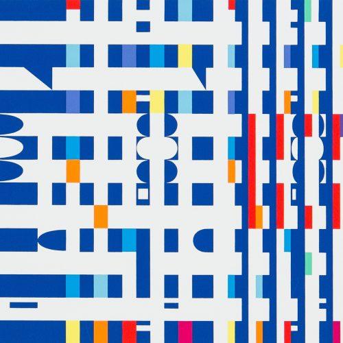 Petit Nobel - Färgserigrafi, signerad av Yaacov Agam.