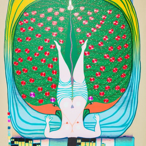 Hommage à Schröder-Sonnen (stämpel signerad) - Färgserigrafi, stämpelsignerad och daterad 1972.