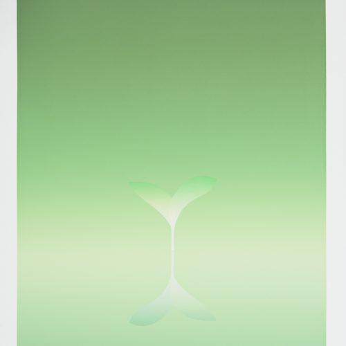 Vårtecken - mars - Färgserigrafi, signerad av Kozo Inoue.