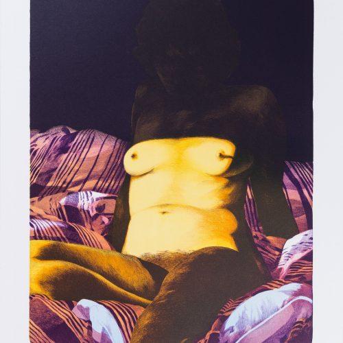 My Love II - Litografi, signerad och daterad av Poul Janus Ipsen 1980.